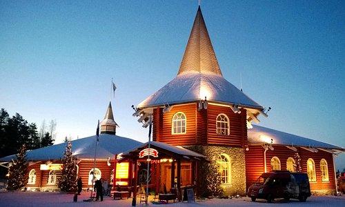 Chrismas Exhibition in Santa Claus Holiday Village in Rovaniemi, Finland