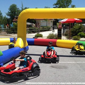 New for the little ones, mini go karts