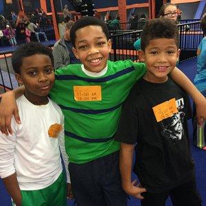 BJ, my son Destin, and Lil Tony