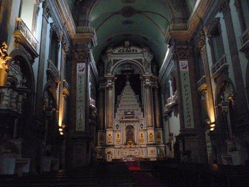 Main Altar of Igreja da Lapa in O Porto