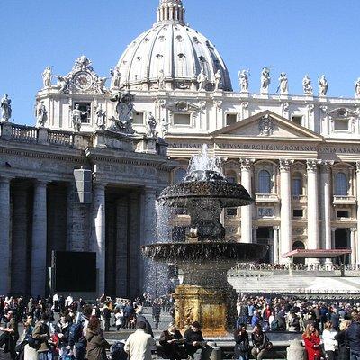 Vatikan St. Petersbasilika