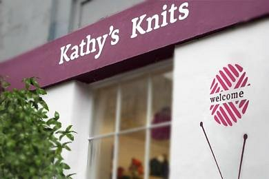 A knitter's haven in the heart of Edinburgh.