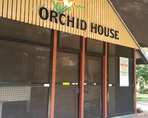 The Orchid House.