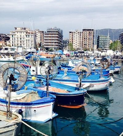 Fising boats in Salerno