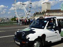 The 'Cow' cab in London!