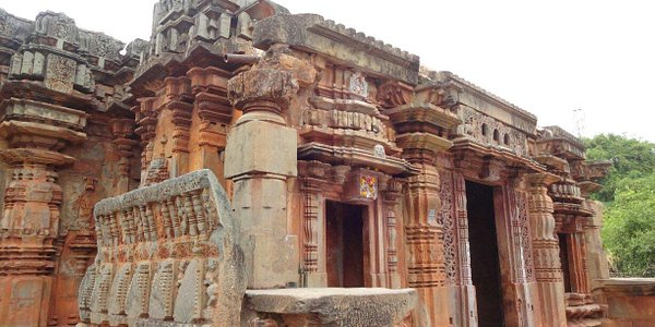 Blissful old temple
