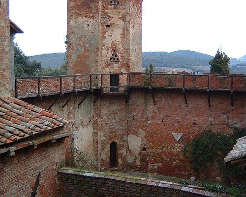 Castello di Gallico, scorcio