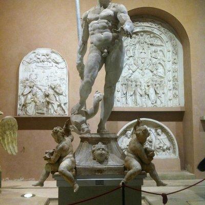 La Gipsoteca dell'Istituto d'Arte di Firenze, Nettuno del Giambologna