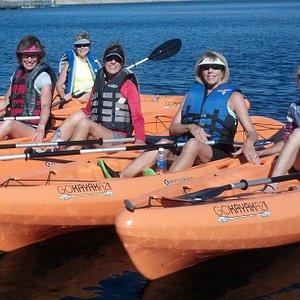 Ladies day of kayaking