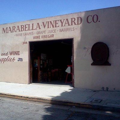 Marabella Vineyard Co. in San Pedro