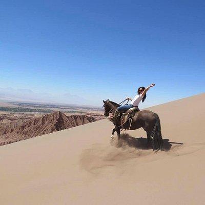 Gran duna Garganta del Diablo