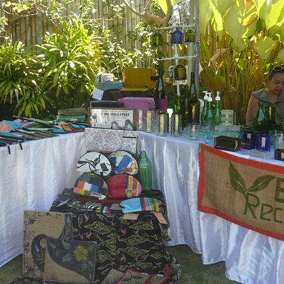 Recycled goods from Bali Recycling