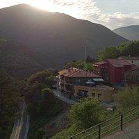 El poble de Montseny