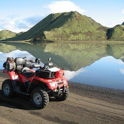 ATV in Iceland