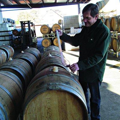 Meet Kenn Vigoda, our ultra-friendly winemaker!
