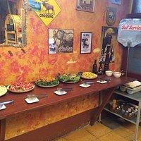 Salad bar and Self Service Cutlery