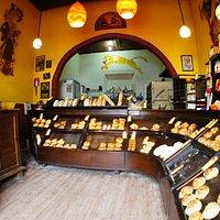 Inside of the bakery