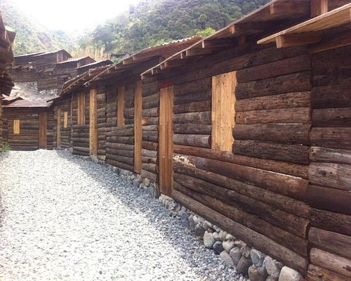 Ancient wooden houses..