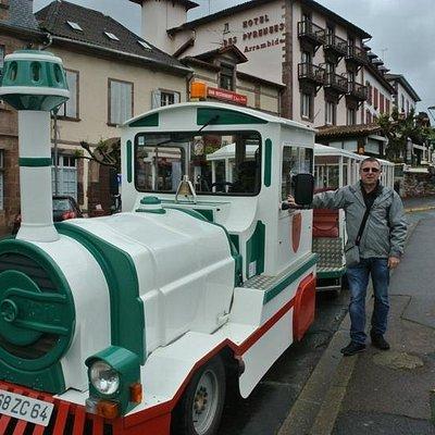 """Le Petit train """"St Jean Pied de Port"""""""