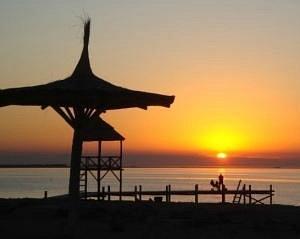 Sunset at Mar Chiquita