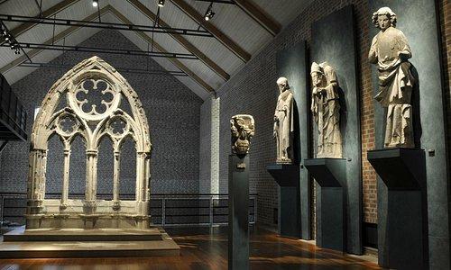 Originale skulpturer fra Nidarosdomen