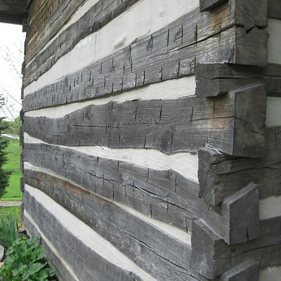 original inn - with adz marks and tongue and groove construction