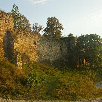 Kamianets-Podilskyi: Turkish Bastions at sunset