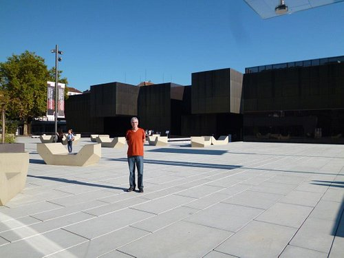 The modern Plataforma das Artes e Criatividade in Guimarães