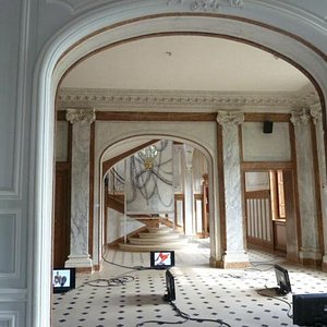 Interior of chateau