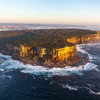 Aerial View of North Head