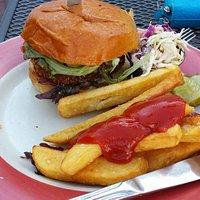 Crispy Crab Burger!! SO GOOD