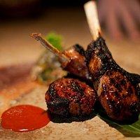 Robata Grilled Korean Spiced Lamb Chops