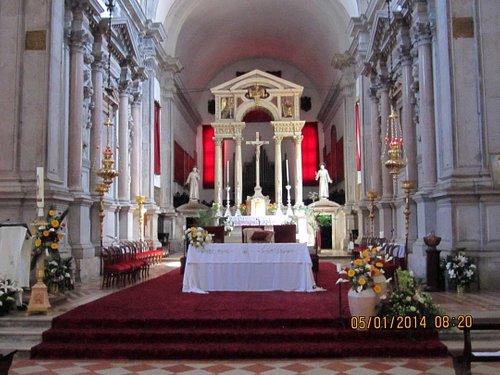 Main Altar, San Francesco della Vigna