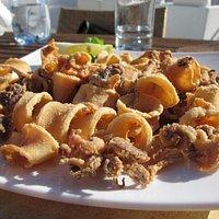 Frituri di calamari