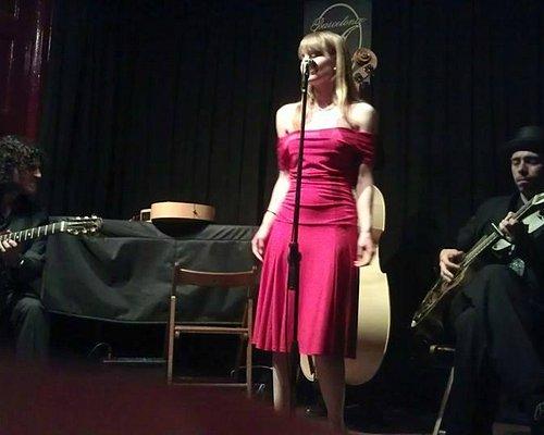 Leah Klump at the Pipa Club