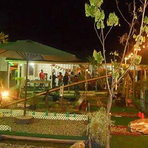 perfect ambience for a garden party