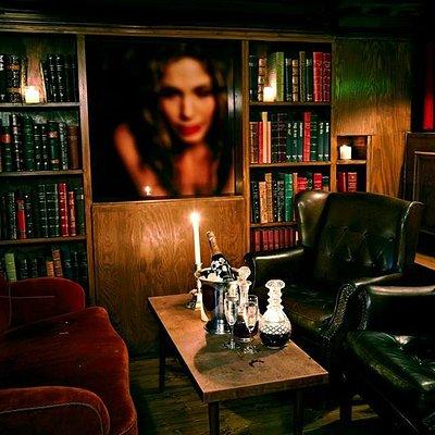 The Janes smoking lounge.