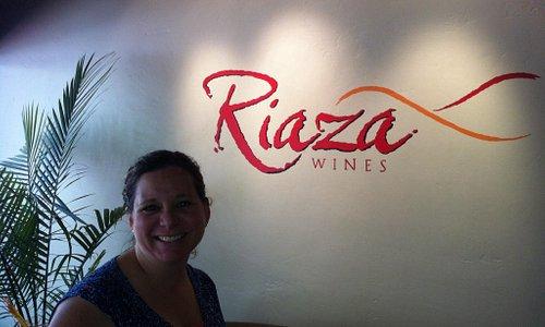 Enjoying the afternoon at Riaza