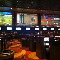 Sports betting booth