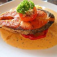 Lillo Island Salmon steak