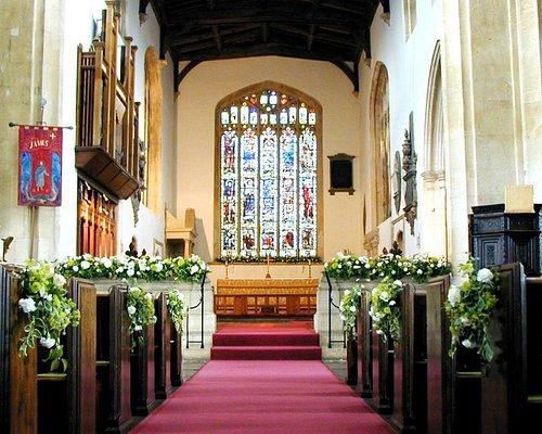 St James' church interior