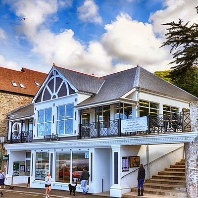 Exmoor National Park Centre, Lynmouth Pavilion.