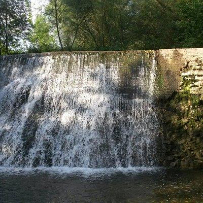 Ecco la cascata ...bellissima