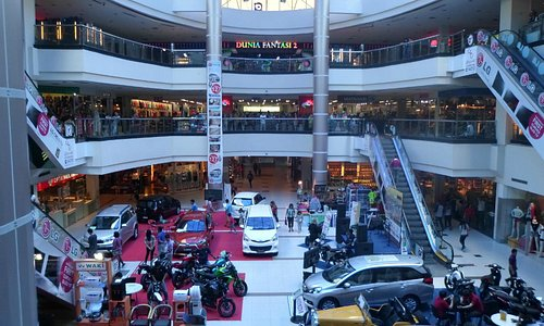 Cars and motor bikes showroom