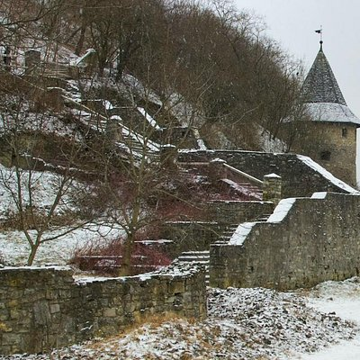 Kamianets-Podilskyi: Farenholts Stairs