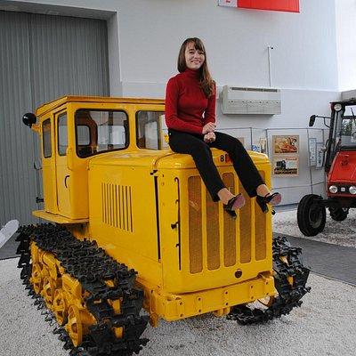 трактор - это весело