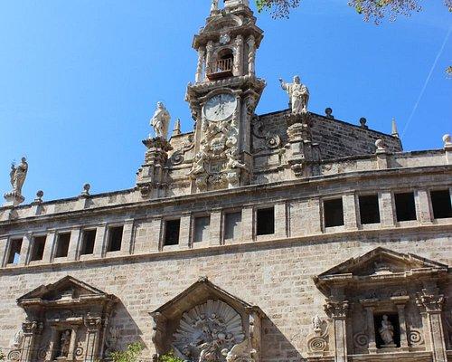Santos Juanes Church by La Lonja & Market