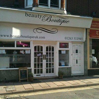 Beauty Boutique shop front