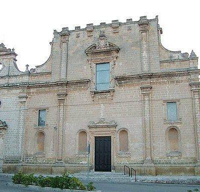 Chiesa del Rosario (vista superiore)