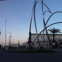 Artful view of Marina